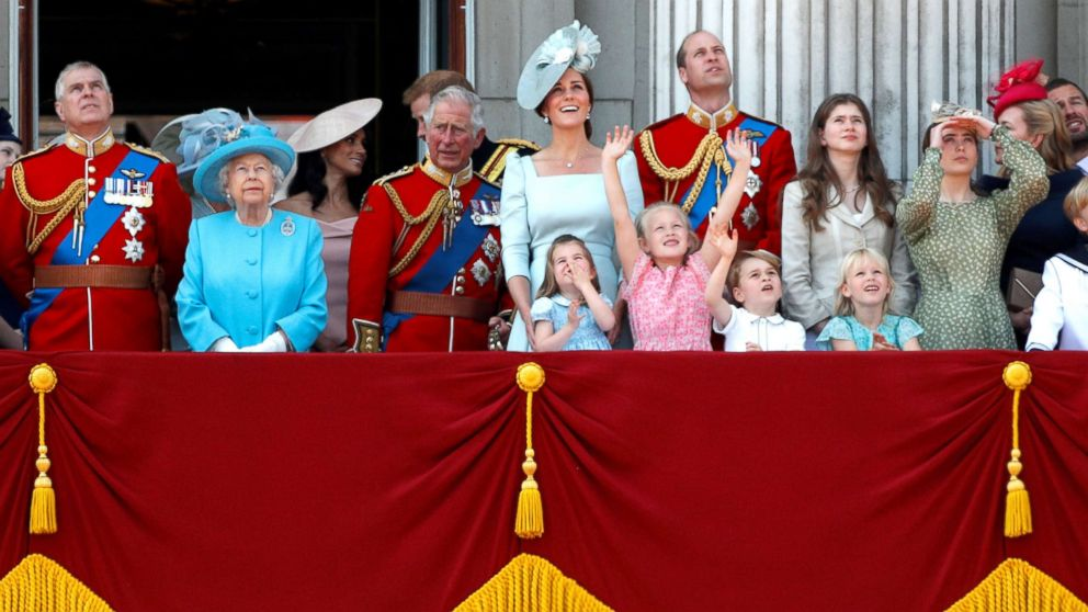 Trooping The Color 2020.Queen Elizabeth Celebrates Her 92nd Birthday