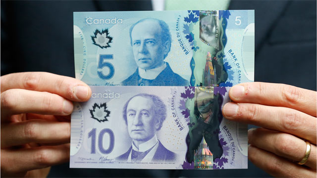 New Canadian Money Smells Like Syrup