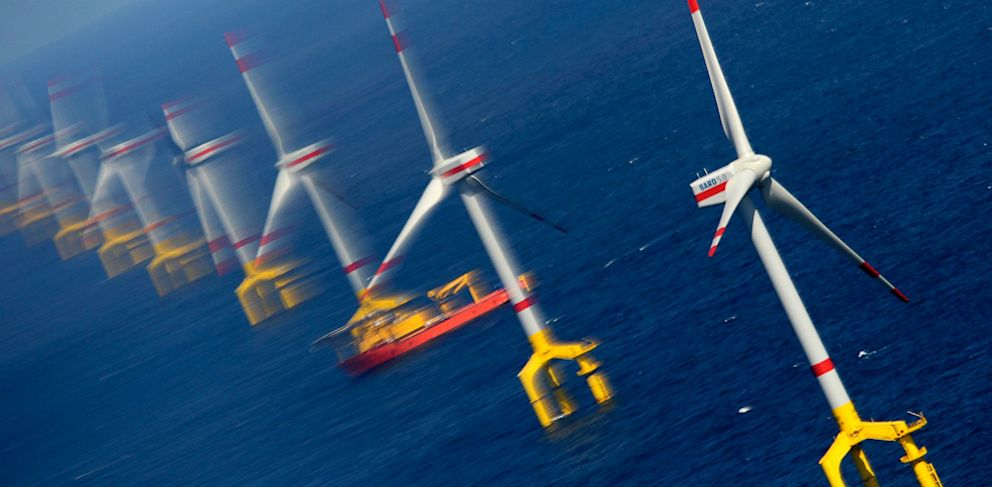 PHOTO: German North Sea wind farm