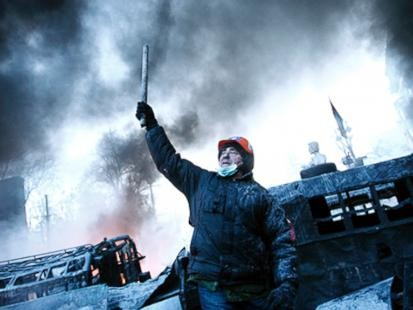 Kiev Rages: Blood, Fire and Fireworks