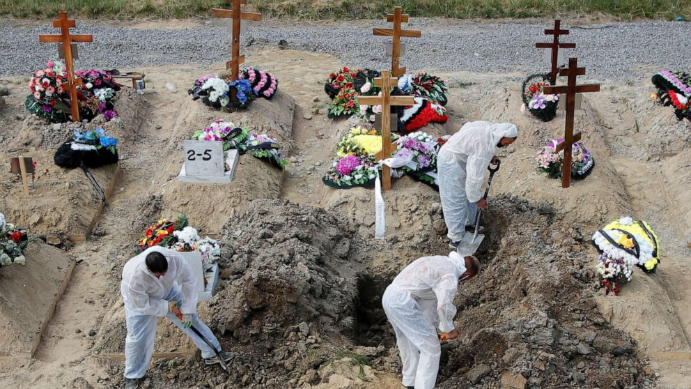 Data suggests Russia's COVID-19 death toll is far higher than reported