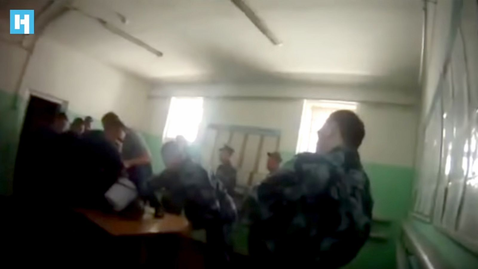 Published another video with beats of prisoners in the Yaroslavl region 1