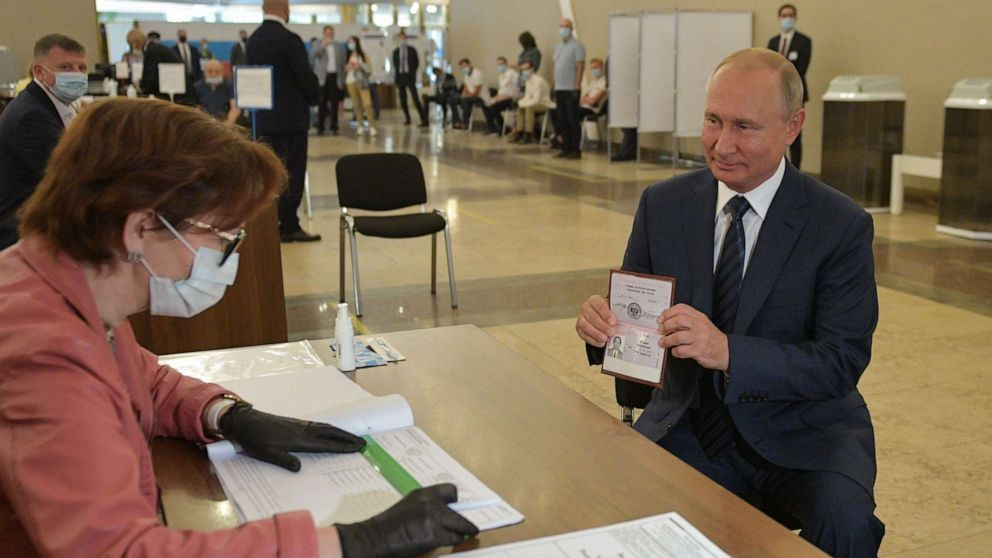 Putin granted proper to increase rule until 2036 in overwhelming referendum outcome thumbnail