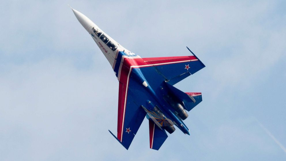 Russian Fighter Flies 5 Feet From Us Plane Over Black Sea Navy