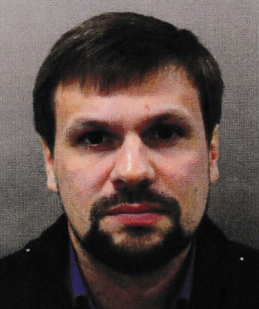 Ruslan Boshirov is seen in this undated photo released by Metropolitan Police.