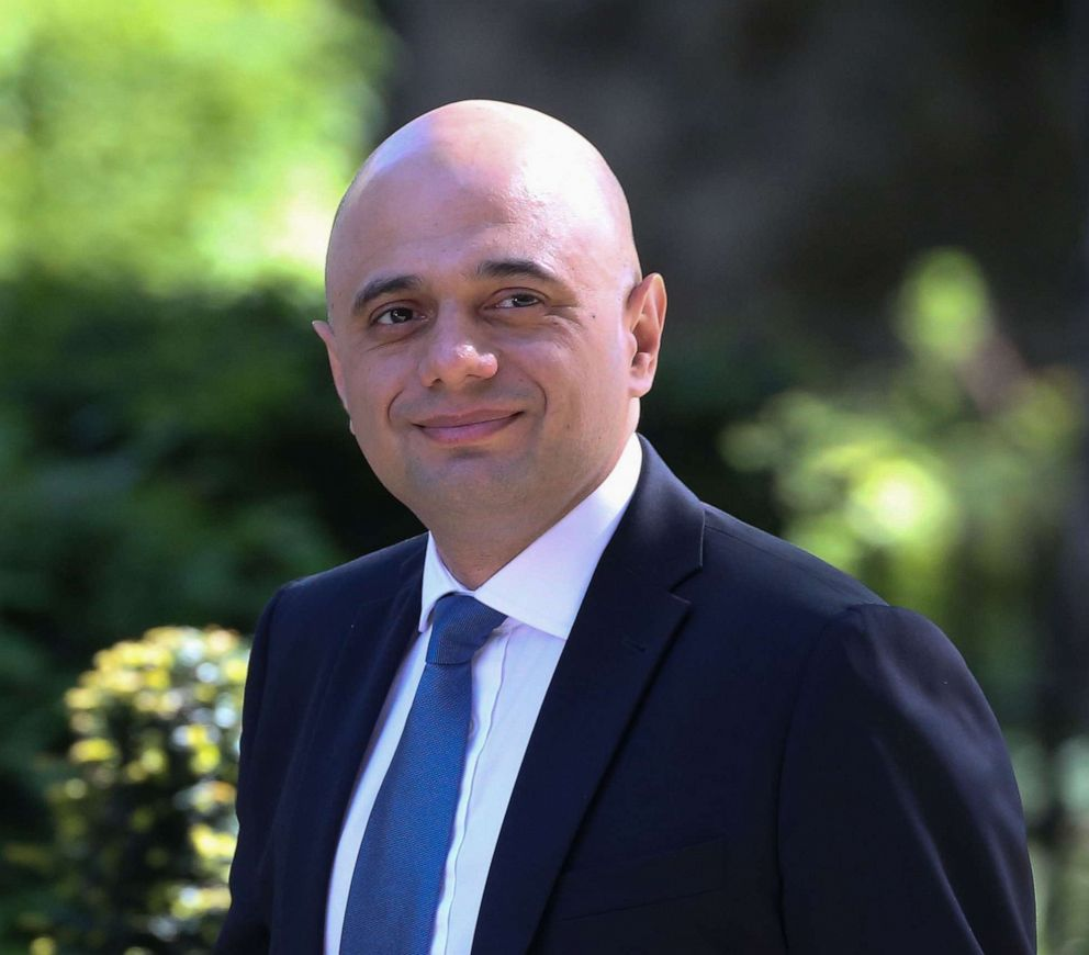 PHOTO: Britains Home Secretary Sajid Javid arrives to attend the weekly meeting of the Cabinet at 10 Downing Street in central London, May 14, 2019.