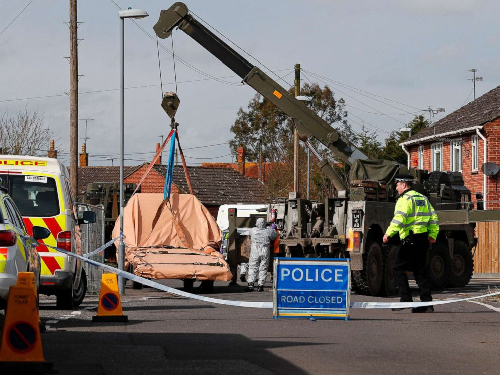 Things to Know About Novichok Nerve Agent Allegedly Used to Poison Skripal