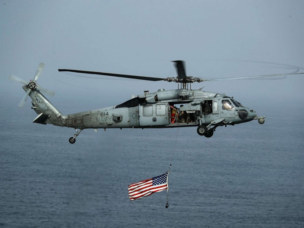 5th Fleet says US sailor went overboard in Arabian Sea