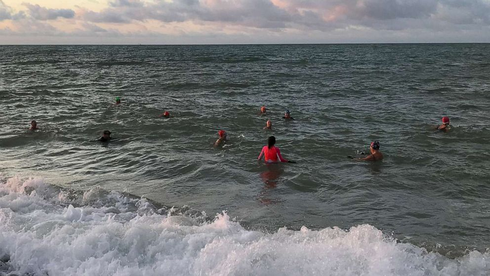 Cold water swimming: The outdoor pursuit making waves in the UK