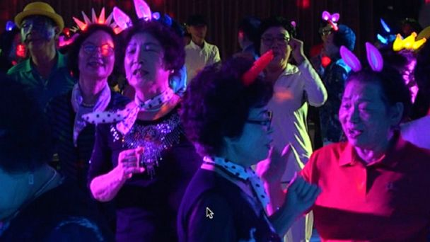 Modeling, freestyle dancing: South Korea's creative solutions to keep its rapidly aging population young