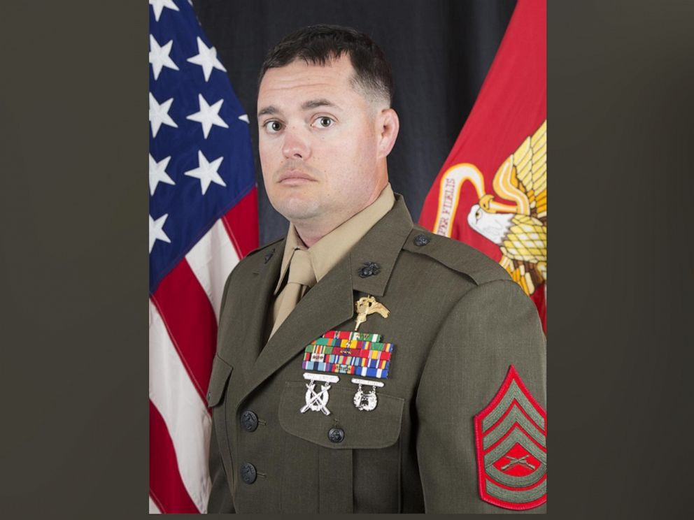 PHOTO: Gunnery Sergeant Scott A. Koppenhafer, 35, a critical skills operator with 2nd Marine Raider Battalion, suffered fatal wounds during combat operations while supporting Iraqi Security Forces.