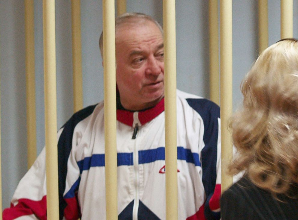 PHOTO: Sergei Skripal, who was found critically ill in Salisbury, England, is seen in this 2006 photo from his appearance in a Moscow District Court.