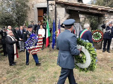 8 US servicemen killed during World War II honored on 75th anniversary