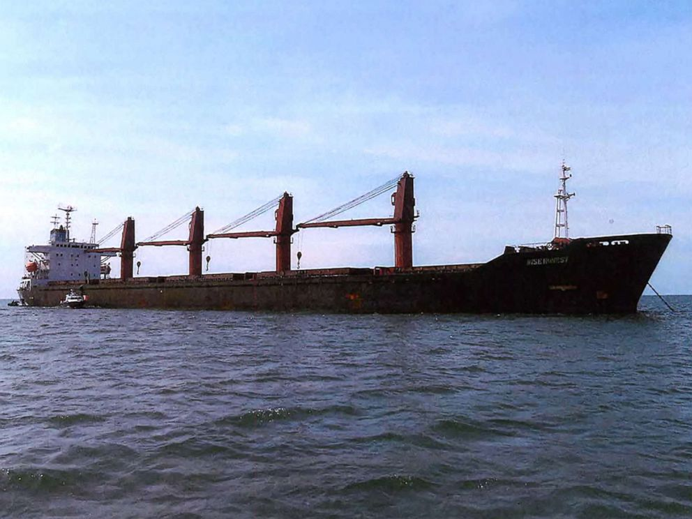 US  seizes North Korea cargo ship for violating sanctions