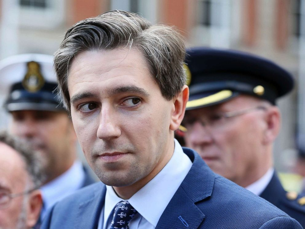 PHOTO: Minister for Health Simon Harris at the launch of a new national day to recognize the unsung heroes from frontline and emergency services at Dublin Castle, Aug. 29, 2018.