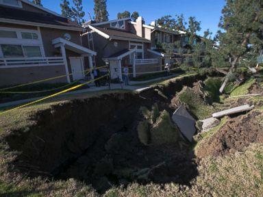 California sinkhole