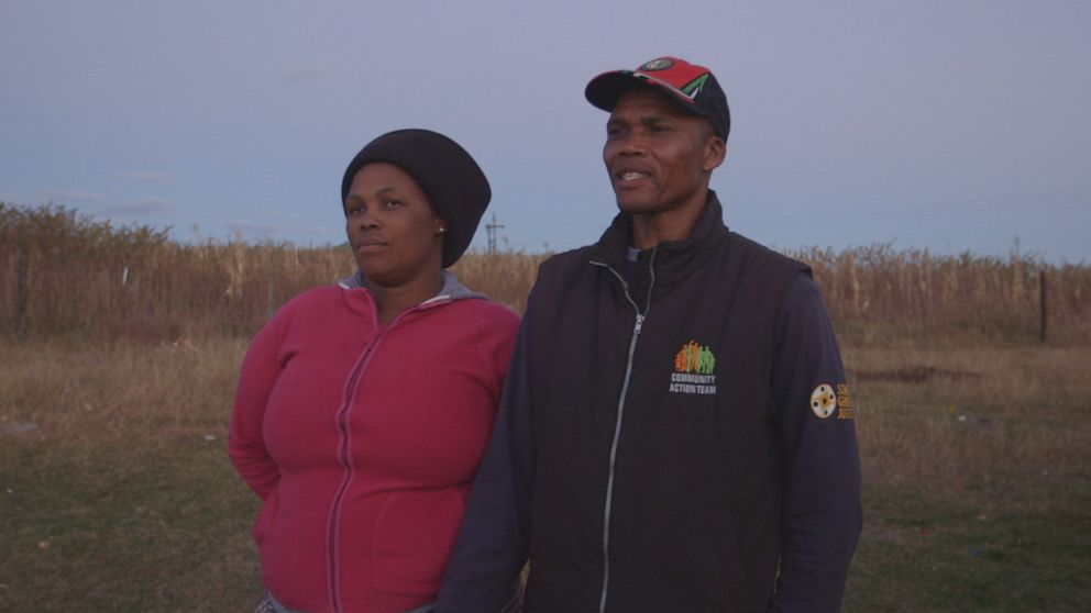 PHOTO: Sithile Nohaya and his wife share how they moved past his abuse.