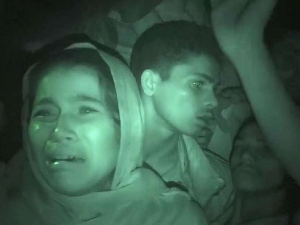 PHOTO: Rohingya Muslims stranded in Myanmar were filmed by a Sky News team that entered the country from Bangladesh.