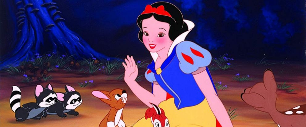 "PHOTO: A still from Disneys ""Snow White and the Seven Dwarfs"" is seen here."