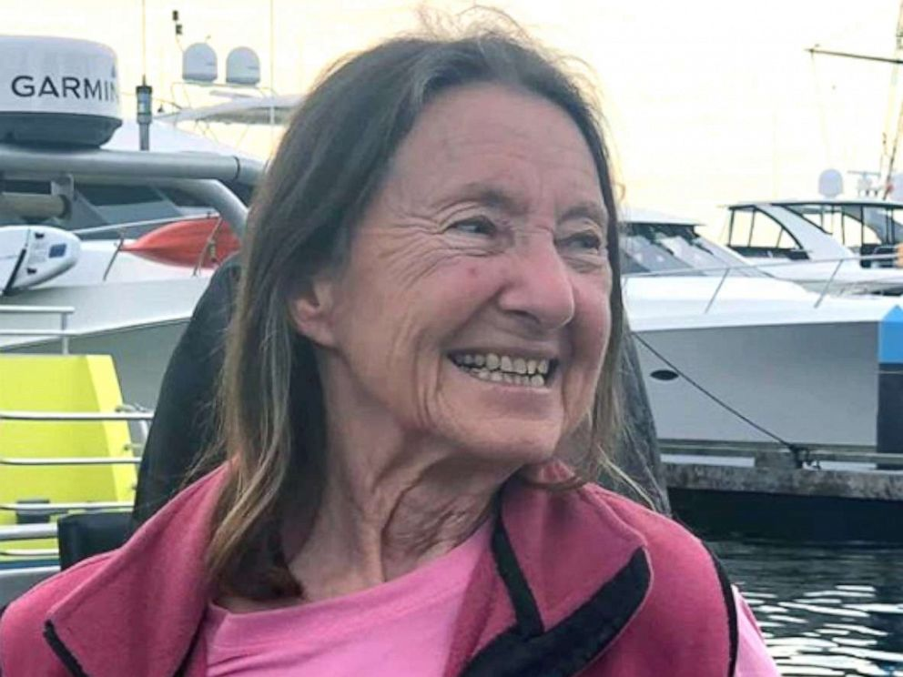 PHOTO: 77-year-old Jeanne Socrates is the oldest person to sail around the world solo and non-stop.