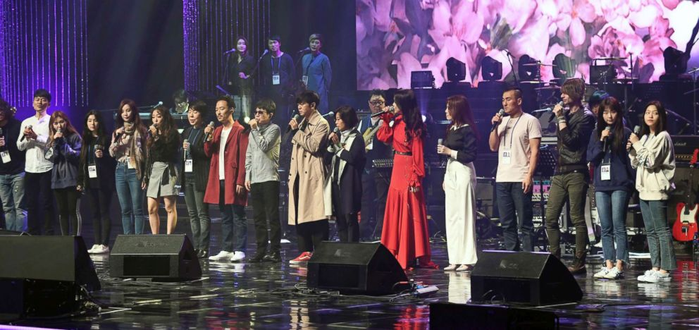 South Korea's K-pop stars surprised by North Korean leader