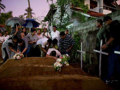Radical Muslim group blamed in Sri Lanka bombings, 1 of 4 American victims identified