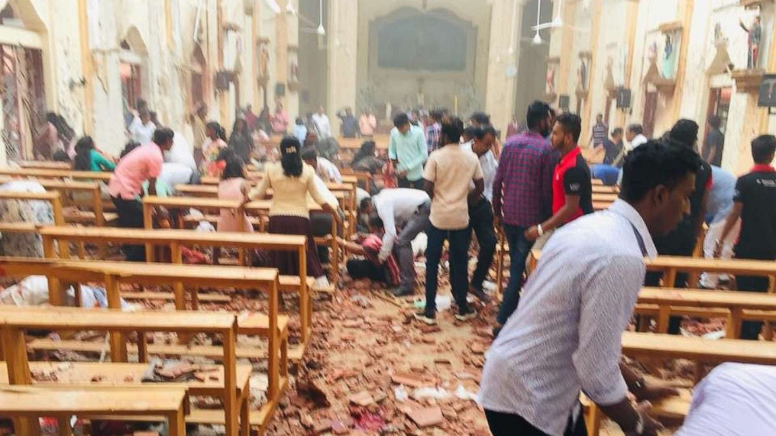 abcnews.go.com - Mark Osborne - 40 dead as explosions rock churches, hotels in Sri Lanka: Report