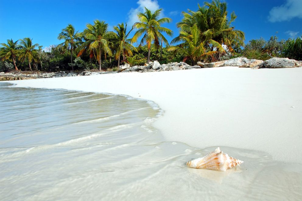 PHOTO: A beach in St. Lucia is seen in this stock photo.