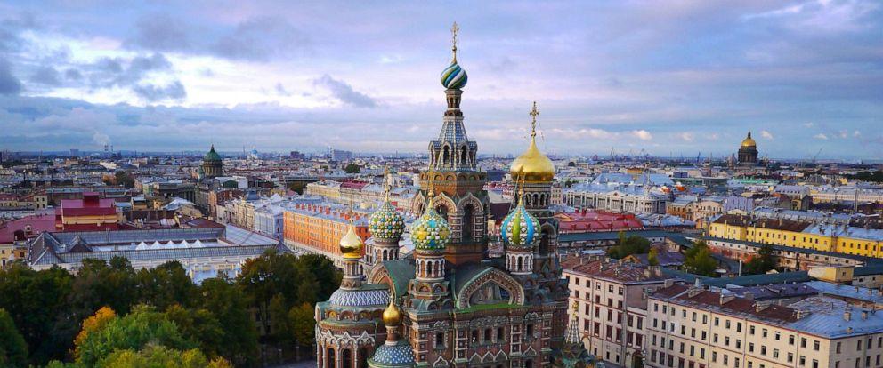 PHOTO: St. Petersburg, Russia.