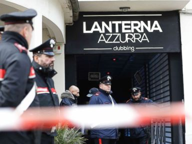 6 dead, dozens injured in Italian disco stampede, some say pepper spray sparked panic
