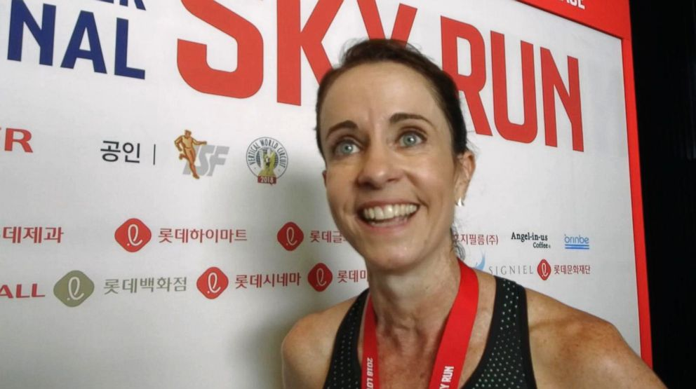 PHOTO: Suzy Walsham, an elite runner from Australia, won the womens competition, May 13, 2018.