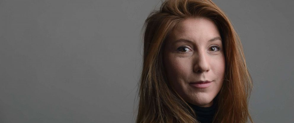 PHOTO:A 2015 file photo of the Swedish journalist Kim Wall.