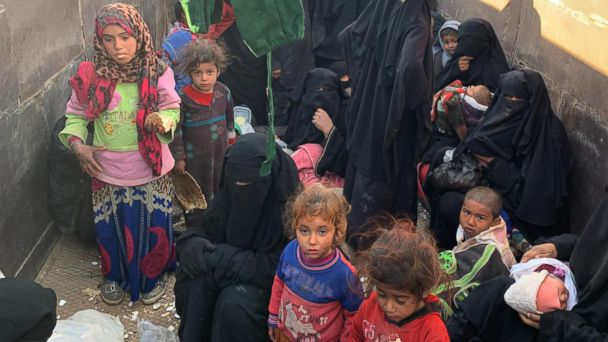 The last ISIS families -- and the American children still trapped: Reporter's Notebook