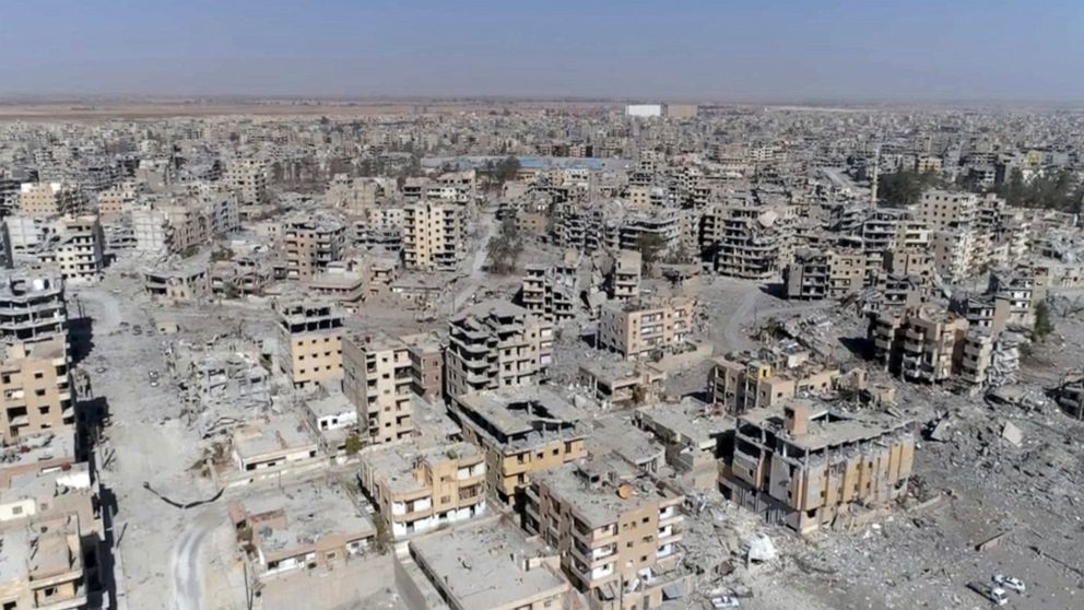 Coalition strikes killed 1,600 civilians in Raqqa says new report thumbnail