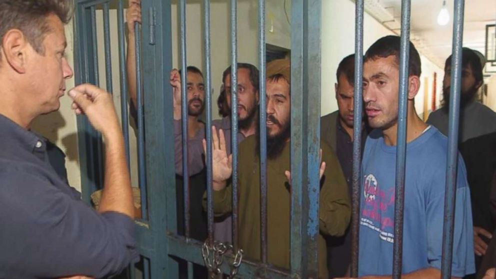 Speaking exclusively to ABC News from their prison block in Kabul, Afghanistan, a group of Taliban fighters said that they had taken up arms because foreign forces had invaded their country.