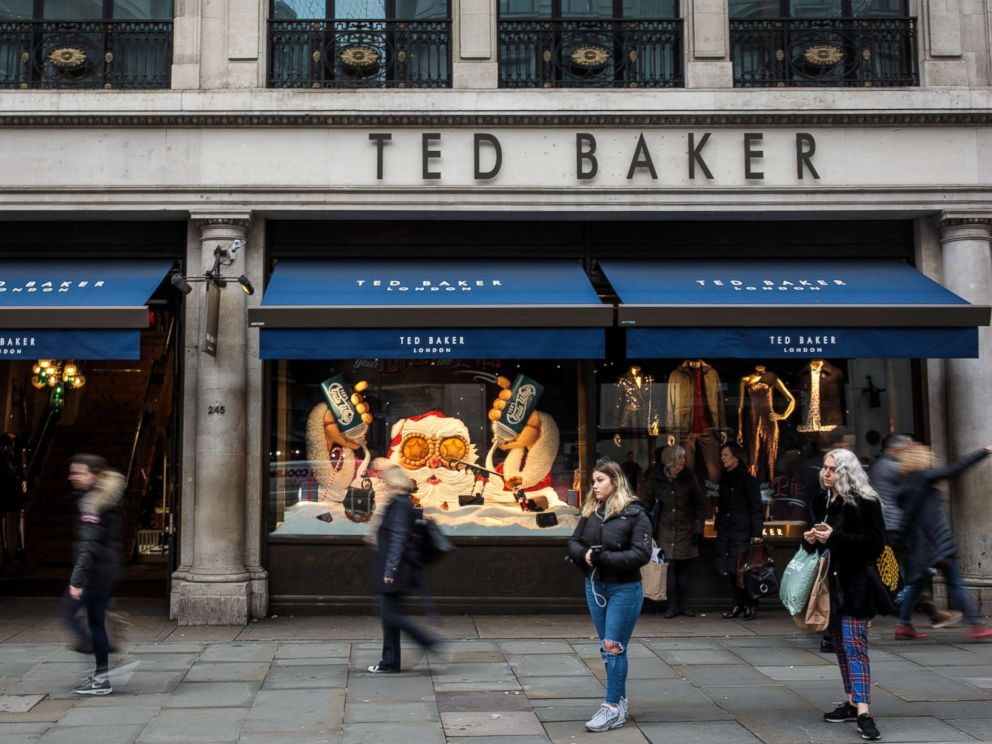 PHOTO: A branch of Ted Baker stands on Regent Street, Dec. 6, 2018, in London.