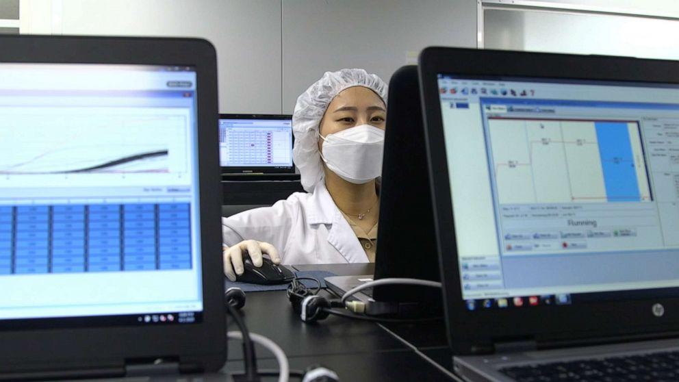 Η νότια Κορέα είναι COVID-19 δοκιμή κατασκευαστές σε υψηλή ζήτηση