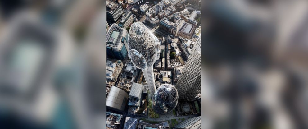 PHOTO: DBOX rendering of the proposed new skyscraper, The Tulip, in London.