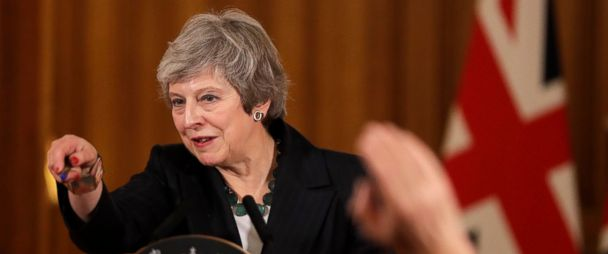 UK's embattled prime minister fights for her job amid mounting