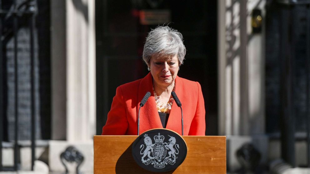 UK Prime Minister Theresa May resigns in wake of mismanaged Brexit thumbnail