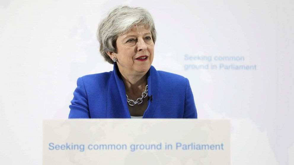 'Her time is up': Pressure grows on May to resign as new Brexit plan comes under fire thumbnail