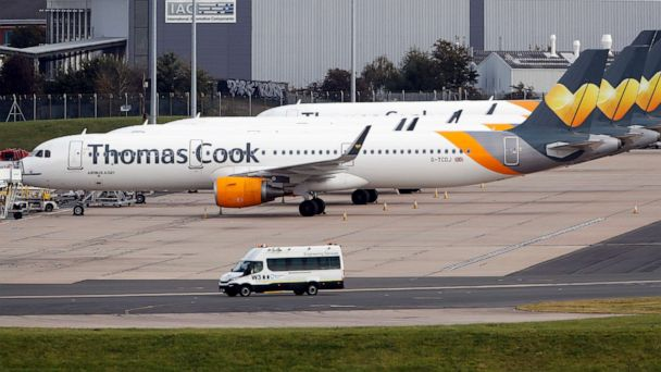 World's oldest travel company Thomas Cook collapses, strands 500,000 people worldwide