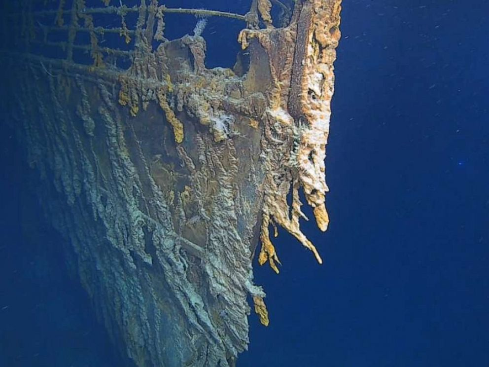 PHOTO: The RMS Titanic wreck rests at the bottom of the North Atlantic Ocean, 370 miles south of Newfoundland, Canada, August 2019.