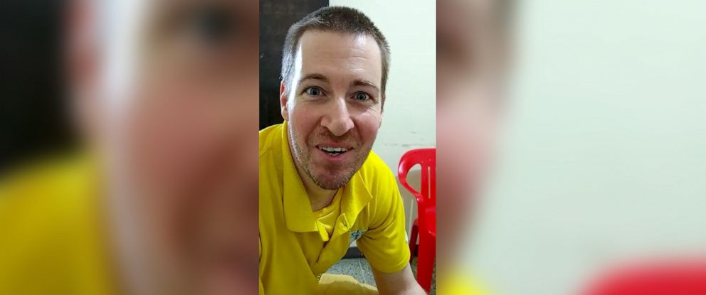 PHOTO: Todd Leininger is seen in this November 2018 video grab in prison in Venezuela.