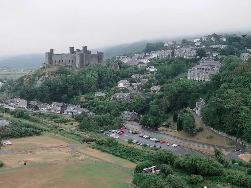 PHOTO: The town of Harlech in North Wales is now home to the worlds steepest street.