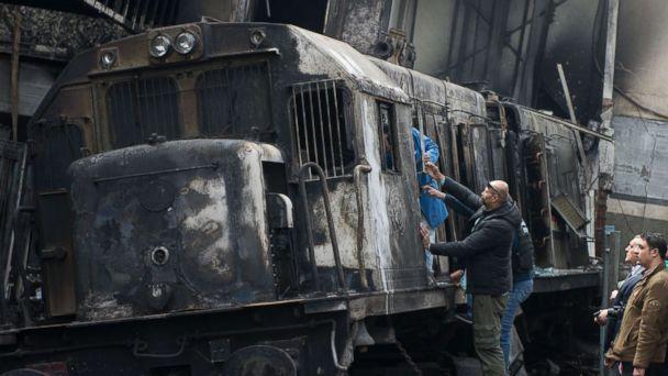 Train crash kills at least 20 in Egypt