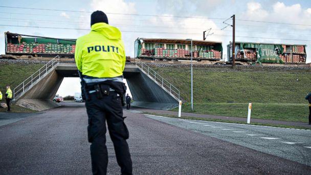 6 people killed in train accident on Denmark's Great Belt Bridge