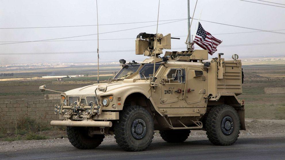 'Mulai di Sini': pasukan AS bergerak di Suriah dan diplomat untuk bersaksi di impeachment probe