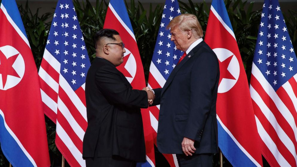 Trump says he's expecting a new letter from North Korea's
