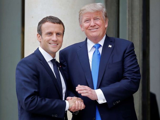 What France expects from 1st state visit hosted by Trump